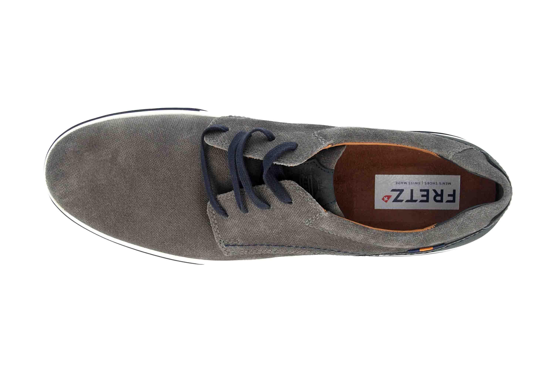Fretz Men Montana Sneaker in Übergrößen Grau 4210.7459-53 große Herrenschuhe – Bild 7