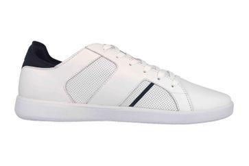 Lacoste Novas 119 1 SMA Sneaker in Übergrößen Weiß 37SMA0037042 große Herrenschuhe – Bild 4