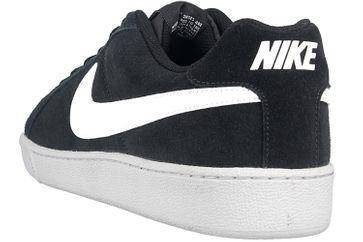 Nike Court Royale Suede Sneakers in Übergrößen Schwarz 819802 011 große Herrenschuhe – Bild 2