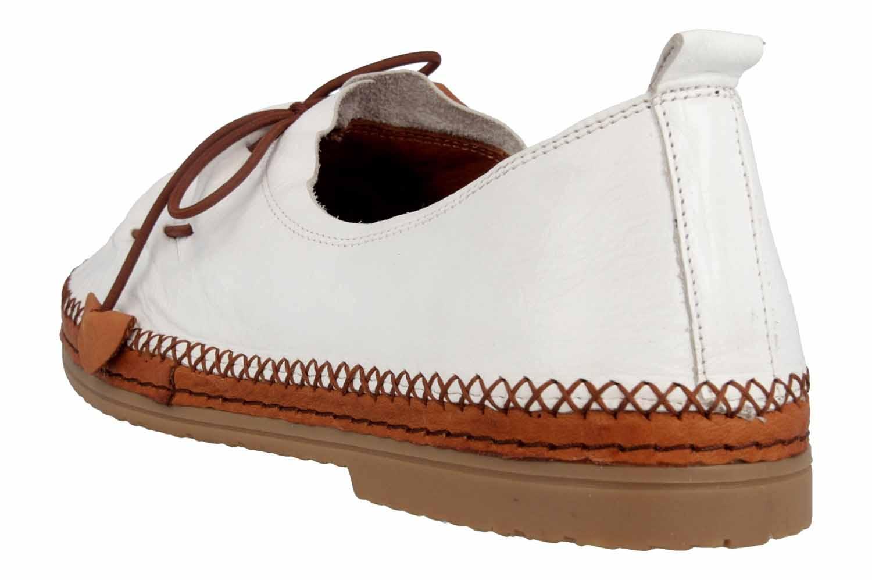 Manitu Slipper in Übergrößen Weiß 840755 3 große Damenschuhe – Bild 2