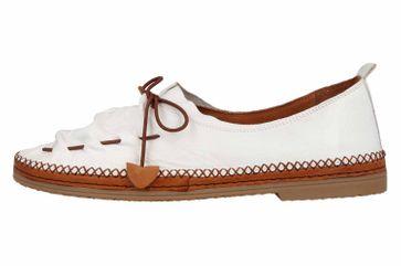 Manitu Slipper in Übergrößen Weiß 840755 3 große Damenschuhe – Bild 1