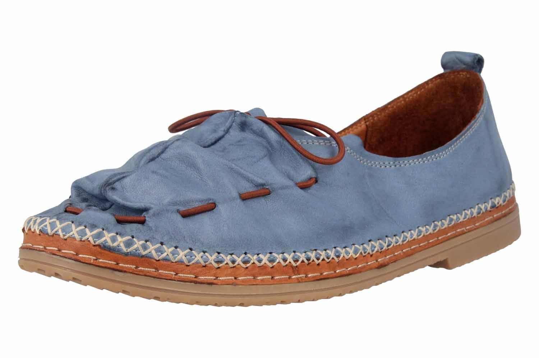 Manitu Slipper in Übergrößen Blau 840755 5 große Damenschuhe – Bild 6