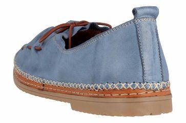 Manitu Slipper in Übergrößen Blau 840755 5 große Damenschuhe – Bild 2