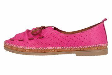 Manitu Slipper in Übergrößen Pink 840790 43 große Damenschuhe – Bild 1
