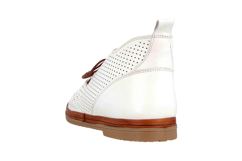 Manitu Stiefel in Übergrößen Weiß 991333 3 große Damenschuhe – Bild 2