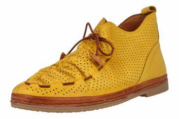 Manitu Stiefel in Übergrößen Gelb 991333 6 große Damenschuhe – Bild 6
