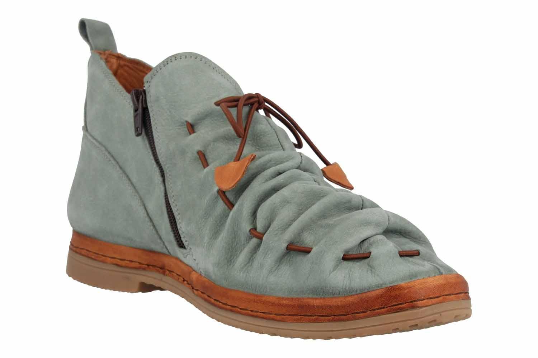 Manitu Stiefel in Übergrößen Grün 991334 7 große Damenschuhe – Bild 5