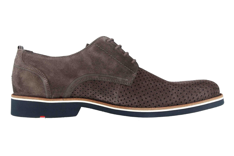 LLOYD Farrow Business- Schuhe in Übergrößen Grau 19-131-12 große Herrenschuhe – Bild 4