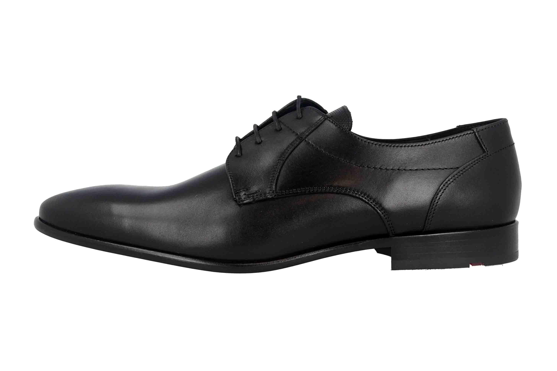 LLOYD Manon Business- Schuhe in Übergrößen Schwarz 19-168-10 große Herrenschuhe – Bild 1