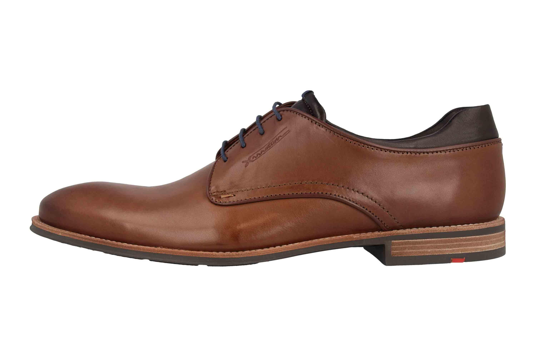 LLOYD Massimo Business- Schuhe in Übergrößen Braun 19-209-37 große Herrenschuhe – Bild 1