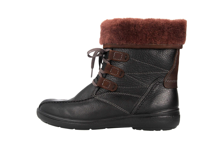 Jomos Freewalk Stiefel in Übergrößen Schwarz 806507 373 0037 große Damenschuhe – Bild 1