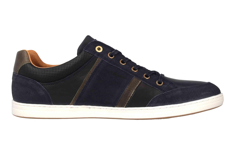 Pantofola d'Oro MONDOVI UOMO LOW Sneaker in Übergrößen Blau 10191017.29Y/10191066.29Y große Herrenschuhe – Bild 4