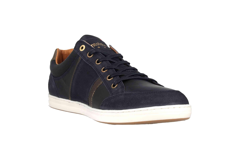 Pantofola d'Oro MONDOVI UOMO LOW Sneaker in Übergrößen Blau 10191017.29Y/10191066.29Y große Herrenschuhe – Bild 5