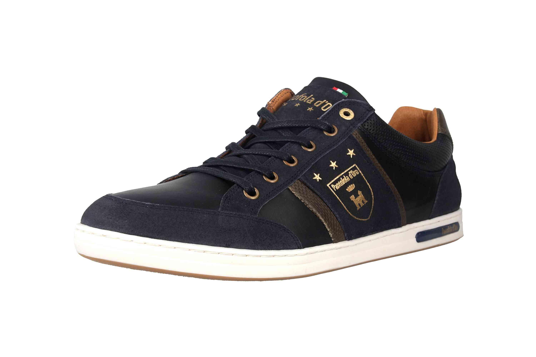 Pantofola d'Oro MONDOVI UOMO LOW Sneaker in Übergrößen Blau 10191017.29Y/10191066.29Y große Herrenschuhe – Bild 6