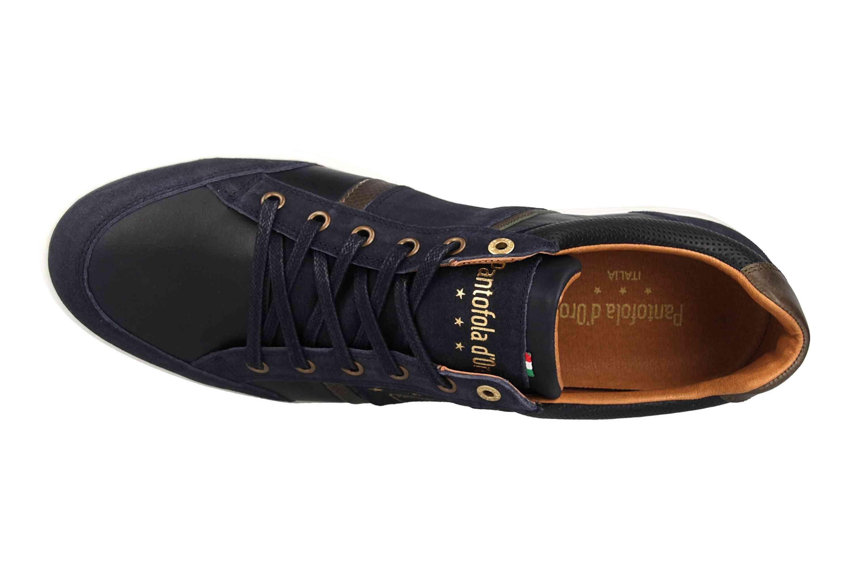 Pantofola d'Oro MONDOVI UOMO LOW Sneaker in Übergrößen Blau 10191017.29Y/10191066.29Y große Herrenschuhe – Bild 7