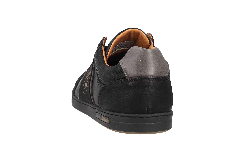 Pantofola d'Oro MONDOVI UOMO LOW Sneaker in Übergrößen Schwarz 10191017.25Y/10191066.25Y große Herrenschuhe – Bild 2