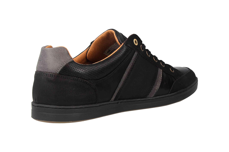 Pantofola d'Oro MONDOVI UOMO LOW Sneaker in Übergrößen Schwarz 10191017.25Y/10191066.25Y große Herrenschuhe – Bild 3