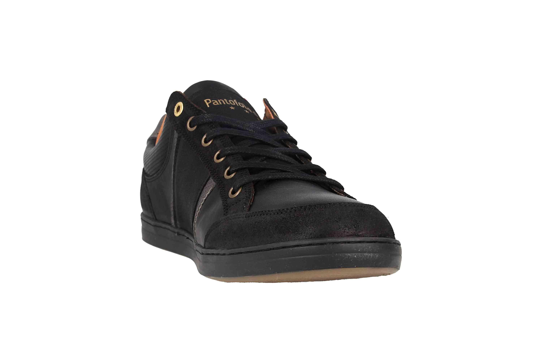 Pantofola d'Oro MONDOVI UOMO LOW Sneaker in Übergrößen Schwarz 10191017.25Y/10191066.25Y große Herrenschuhe – Bild 5