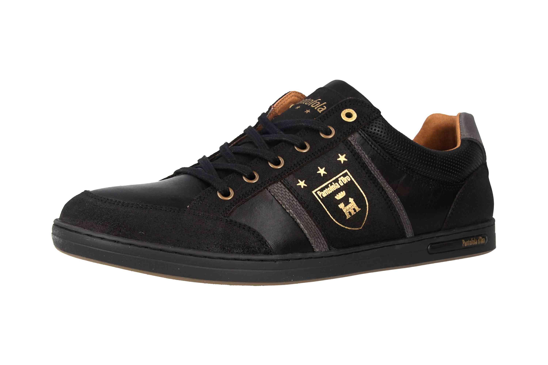 Pantofola d'Oro MONDOVI UOMO LOW Sneaker in Übergrößen Schwarz 10191017.25Y/10191066.25Y große Herrenschuhe – Bild 6