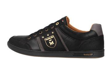 Pantofola d'Oro MONDOVI UOMO LOW Sneaker in Übergrößen Schwarz 10191017.25Y/10191066.25Y große Herrenschuhe – Bild 1