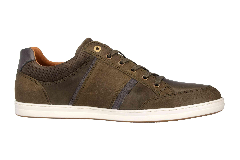 Pantofola d'Oro MONDOVI UOMO LOW Sneaker in Übergrößen Grün 10191017.52A/10191066.52A große Herrenschuhe – Bild 4
