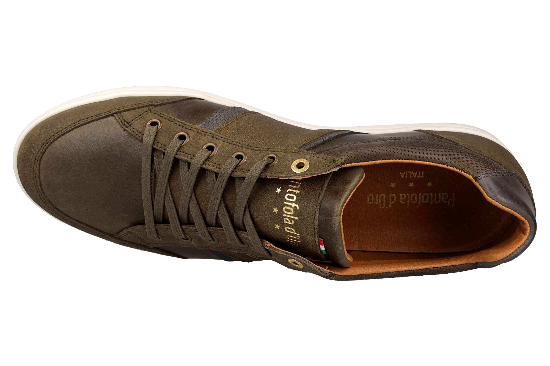 Pantofola d'Oro MONDOVI UOMO LOW Sneaker in Übergrößen Grün 10191017.52A/10191066.52A große Herrenschuhe – Bild 7