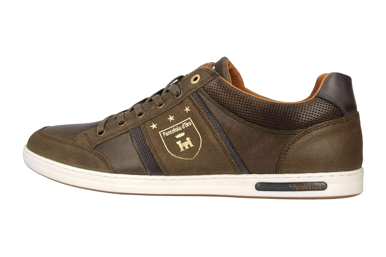 Pantofola d'Oro MONDOVI UOMO LOW Sneaker in Übergrößen Grün 10191017.52A/10191066.52A große Herrenschuhe – Bild 1