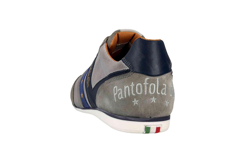 Pantofola d'Oro VASTO UOMO LOW Sneaker in Übergrößen Grau 10191037.3JW/10191067.3JW große Herrenschuhe – Bild 2