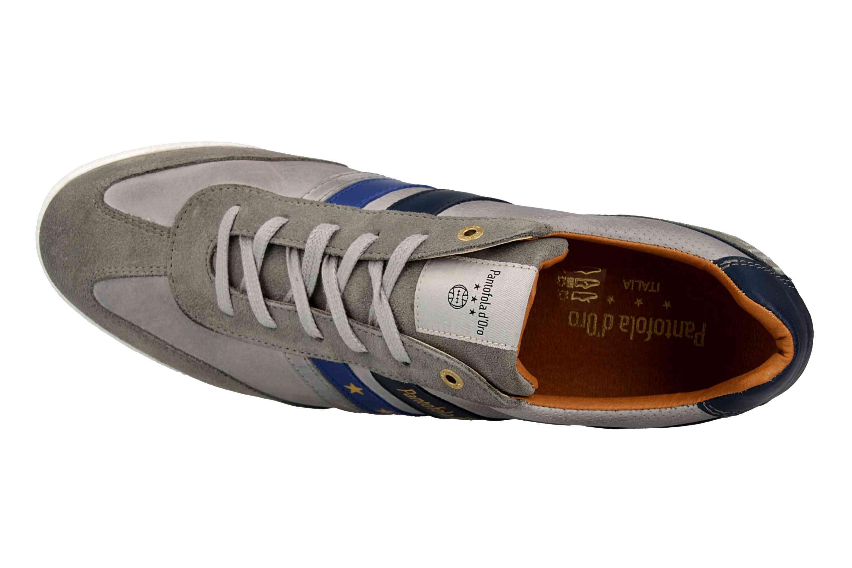 Pantofola d'Oro VASTO UOMO LOW Sneaker in Übergrößen Grau 10191037.3JW/10191067.3JW große Herrenschuhe – Bild 7