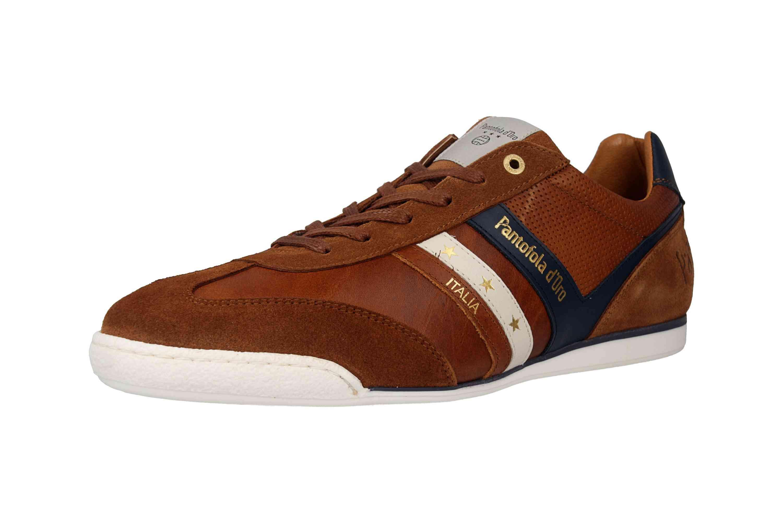 Pantofola d'Oro VASTO UOMO LOW Sneaker in Übergrößen Braun 10191037.JCU/10191067.JCU große Herrenschuhe – Bild 6