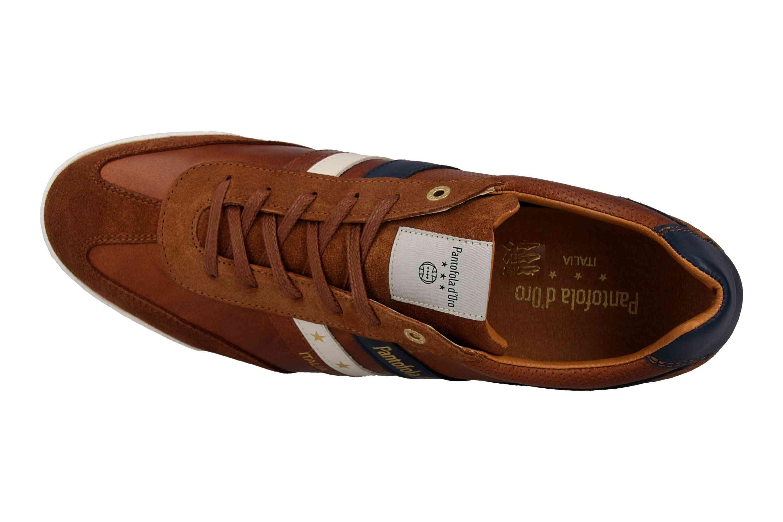 Pantofola d'Oro VASTO UOMO LOW Sneaker in Übergrößen Braun 10191037.JCU/10191067.JCU große Herrenschuhe – Bild 7