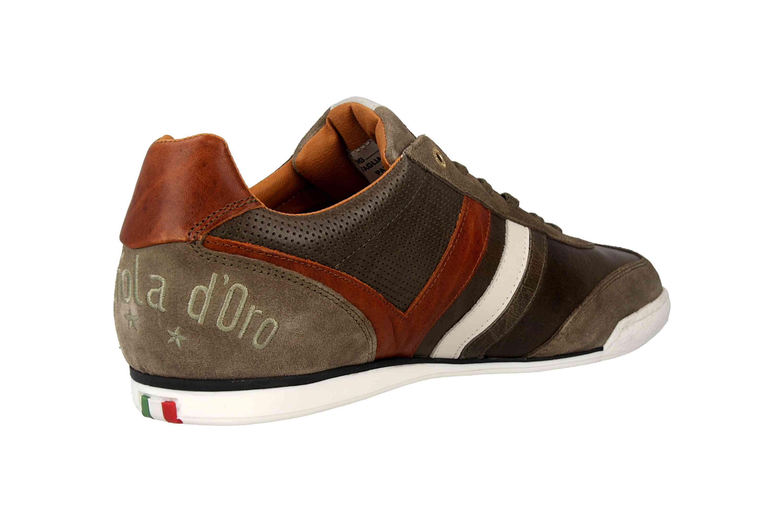 Pantofola d'Oro VASTO UOMO LOW Sneaker in Übergrößen Grün 10191037.52A/10191067.52A große Herrenschuhe – Bild 3