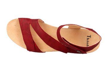 Think! Dumia Sandaletten in Übergrößen Rot 4-84370-73 große Damenschuhe – Bild 7
