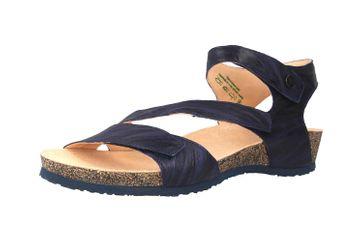 Think! Dumia Sandaletten in Übergrößen Blau 4-84370-89 große Damenschuhe – Bild 6