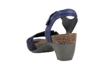 Think! TRAUDI Sandaletten in Übergrößen Blau 4-84573-89 große Damenschuhe – Bild 2
