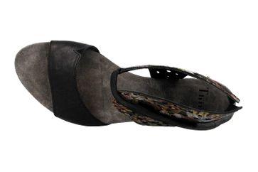 Think! TRAUDI Sandaletten in Übergrößen Schwarz 4-84579-09 große Damenschuhe – Bild 7