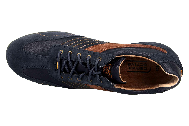 Camel Active Sneaker in Übergrößen Blau 137.36.02 große Herrenschuhe – Bild 7