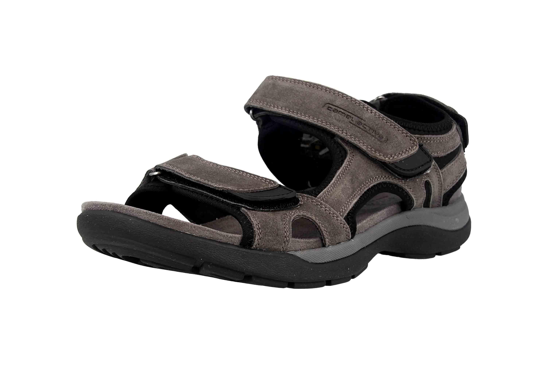 Camel Active Sandale in Übergrößen Grau 540.11.03 große Herrenschuhe – Bild 6