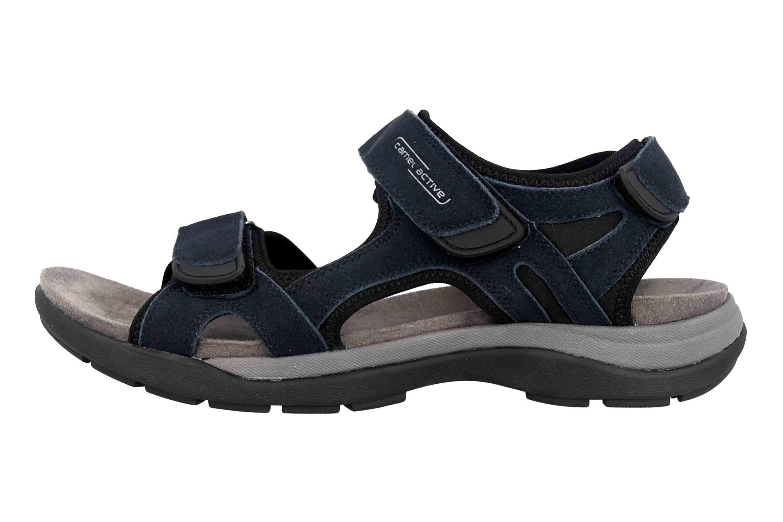 Camel Active Sandale in Übergrößen Blau 540.11.04 große Herrenschuhe – Bild 1