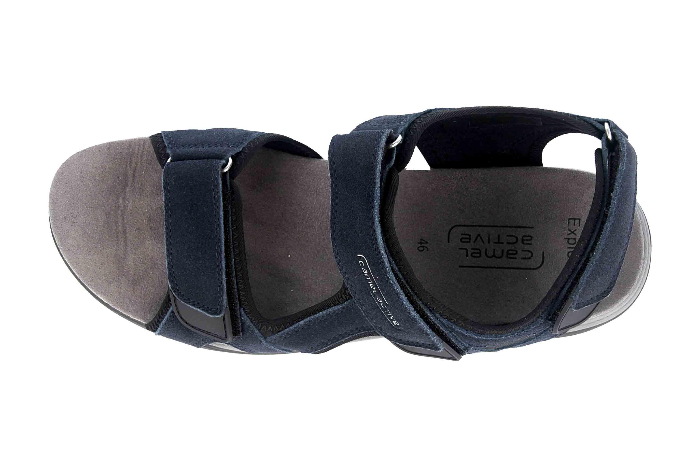 Camel Active Sandale in Übergrößen Blau 540.11.04 große Herrenschuhe – Bild 7