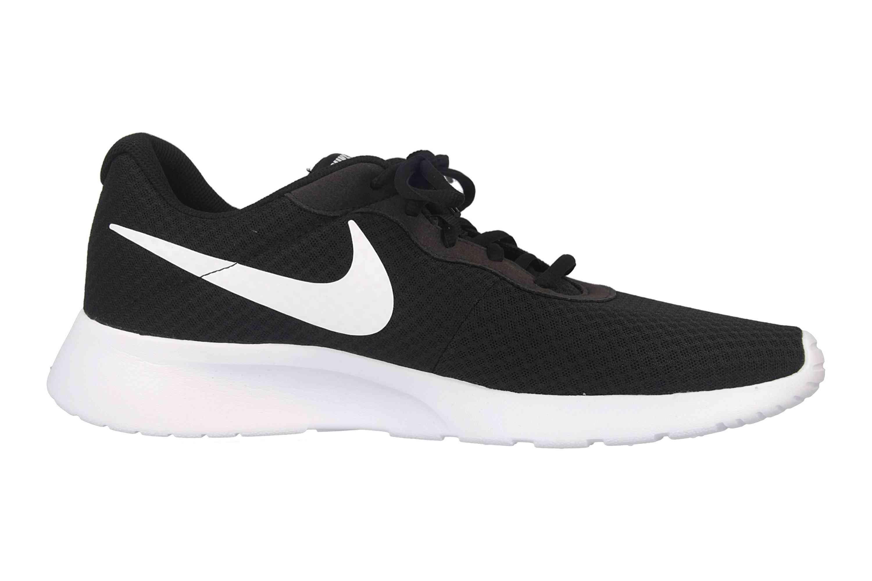 Nike Tanjun Sneaker in Übergrößen Schwarz 812654 011 große Herrenschuhe – Bild 4