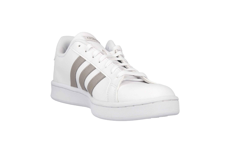 Adidas Grand Court Sneaker in Übergrößen Weiß F36485 große Damenschuhe – Bild 5