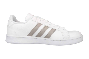 Adidas Grand Court Sneaker in Übergrößen Weiß F36485 große Damenschuhe – Bild 4
