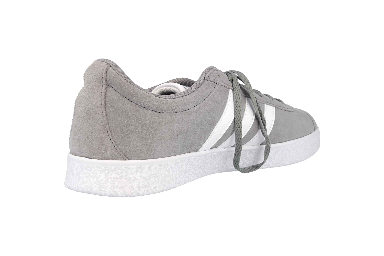 Adidas VL Court 2.0 Sneaker in Übergrößen Grau B43807 große Herrenschuhe – Bild 3