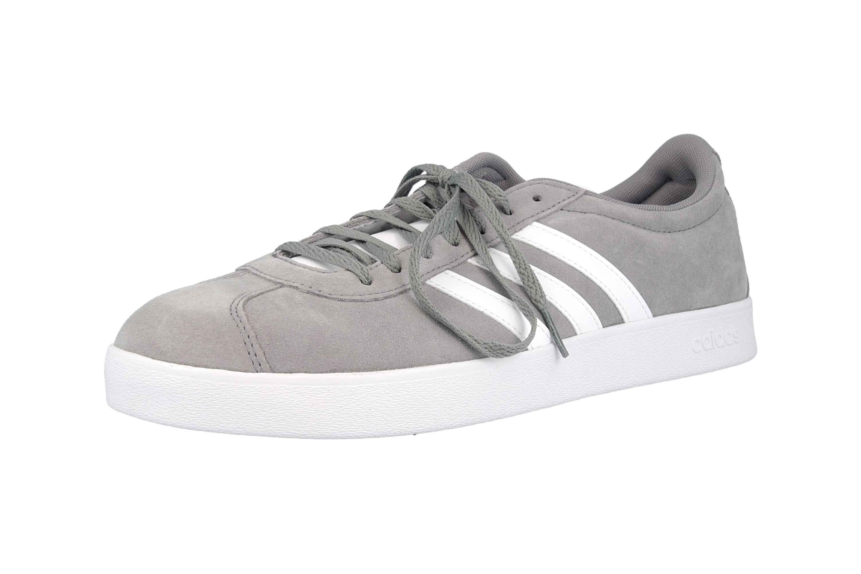 Adidas VL Court 2.0 Sneaker in Übergrößen Grau B43807 große Herrenschuhe – Bild 6