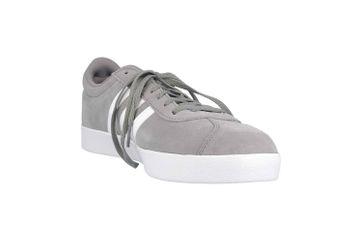 Adidas VL Court 2.0 Sneaker in Übergrößen Grau B43807 große Herrenschuhe – Bild 5