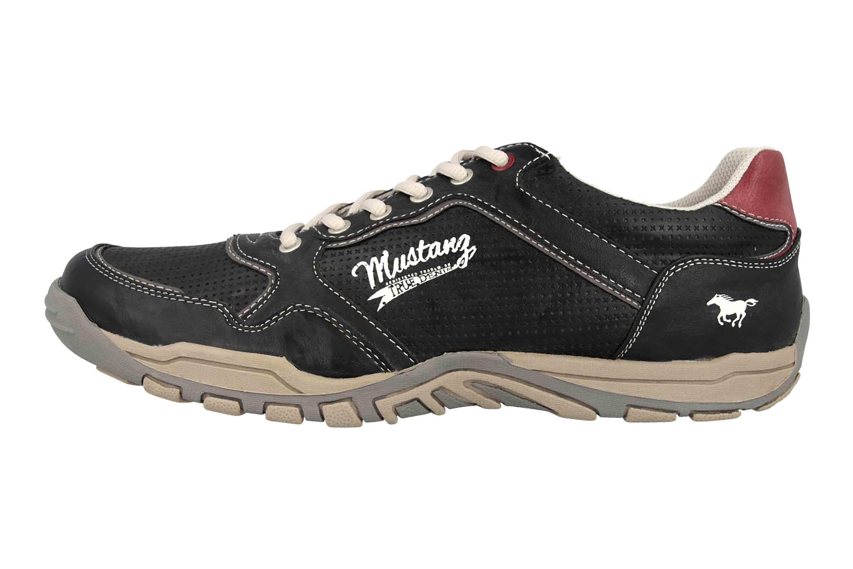 Mustang Shoes Halbschuhe in Übergrößen Grau 4027-320-200 große Herrenschuhe – Bild 1