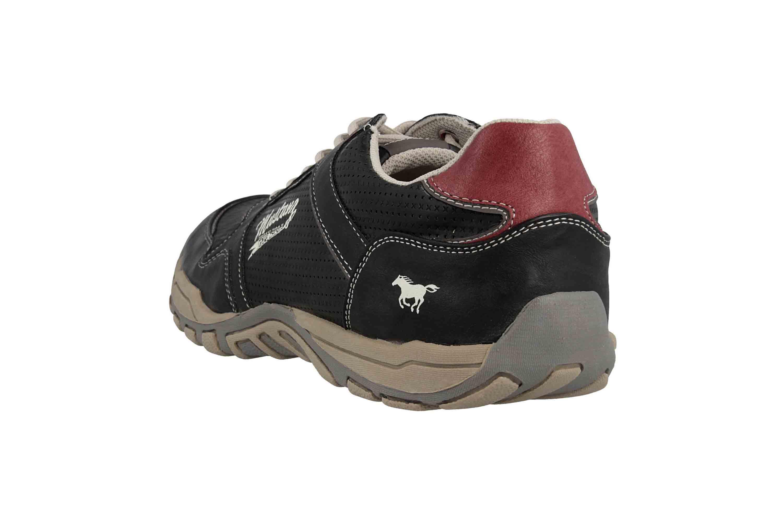 Mustang Shoes Halbschuhe in Übergrößen Grau 4027-320-200 große Herrenschuhe – Bild 2