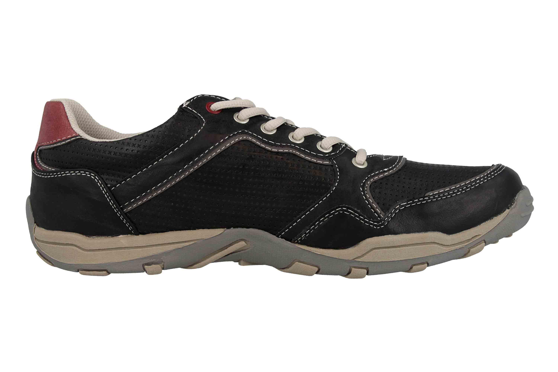 Mustang Shoes Halbschuhe in Übergrößen Grau 4027-320-200 große Herrenschuhe – Bild 4