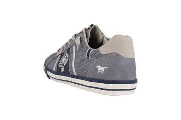 Mustang Shoes Sneaker in Übergrößen Blau 4072-308-875 große Herrenschuhe – Bild 2